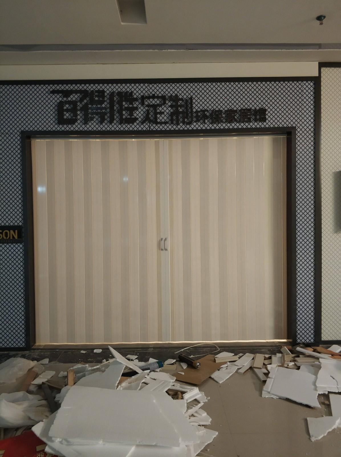 西安PVC折疊門廠家
