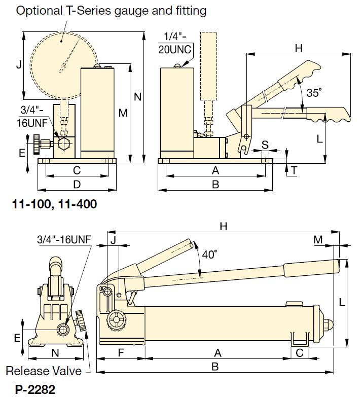 超高壓手動泵