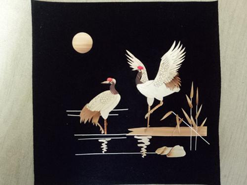 树脂画框麦秆画