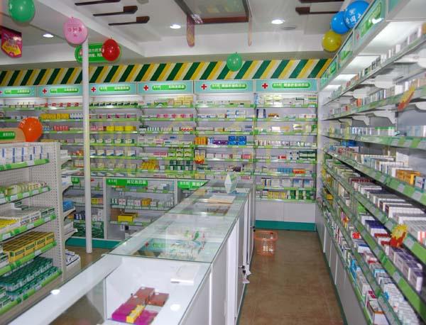 宁夏药店货架