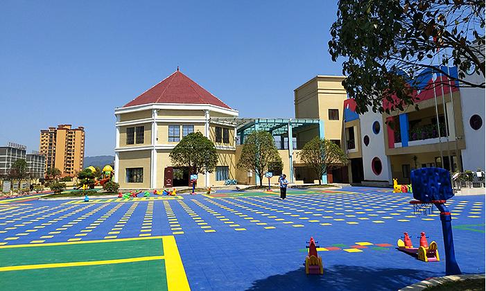 幼儿园悬浮地板用途