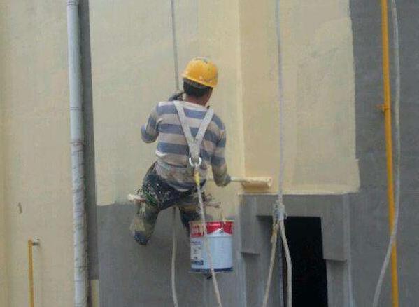 外牆塗料粉刷