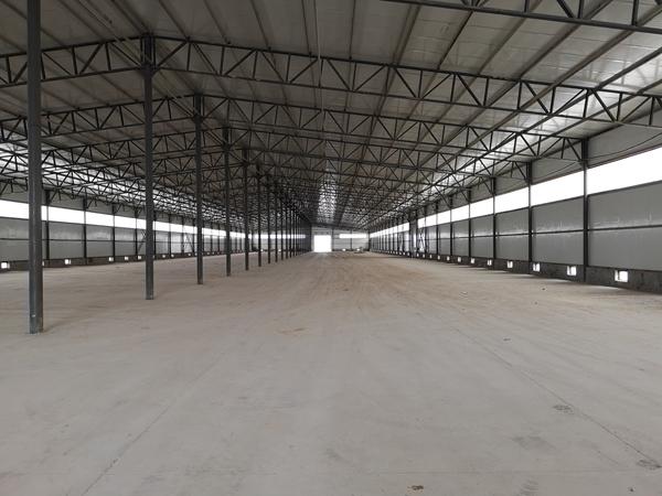 建平新厂区建设中