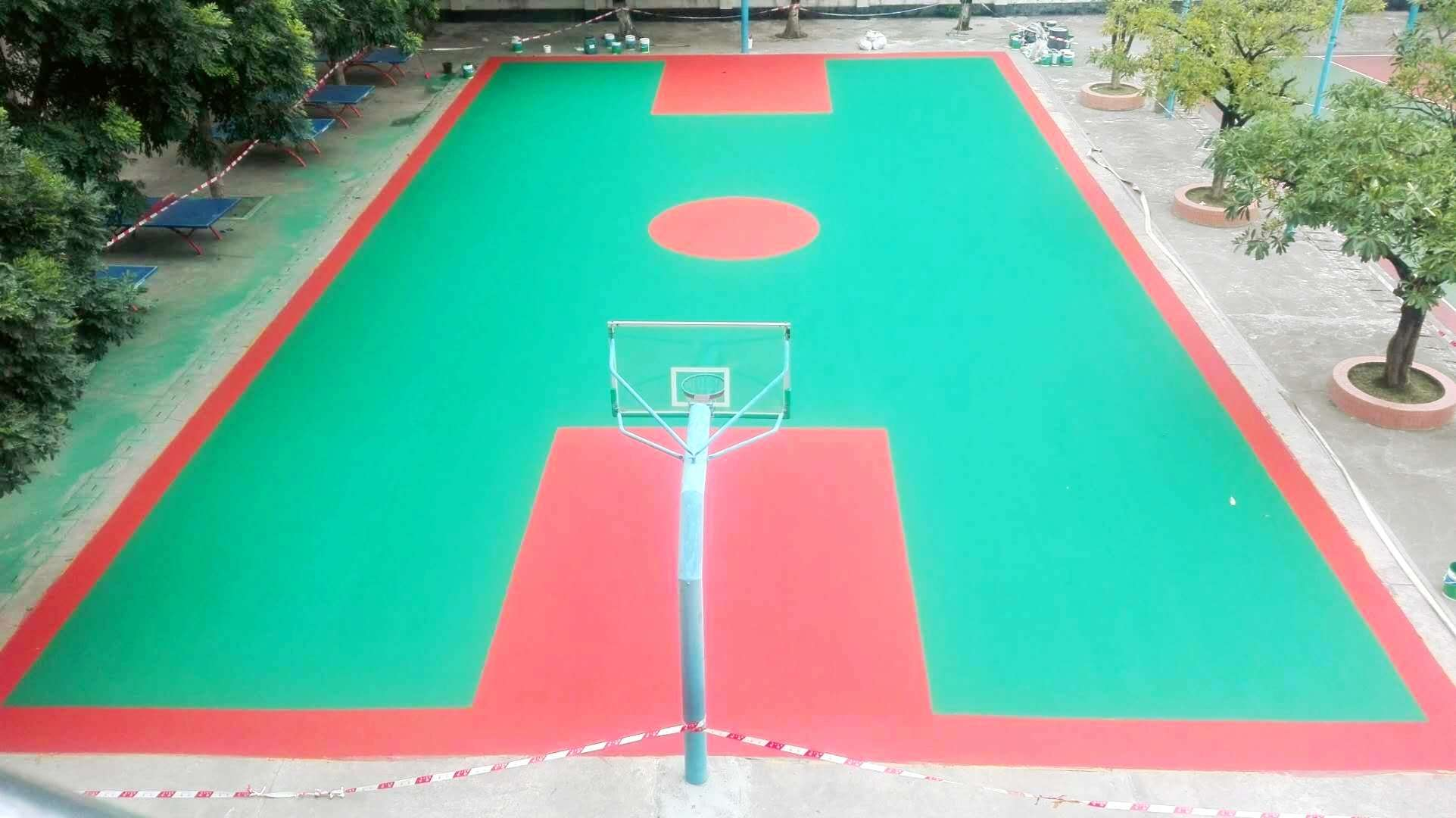 广东丙烯酸球场