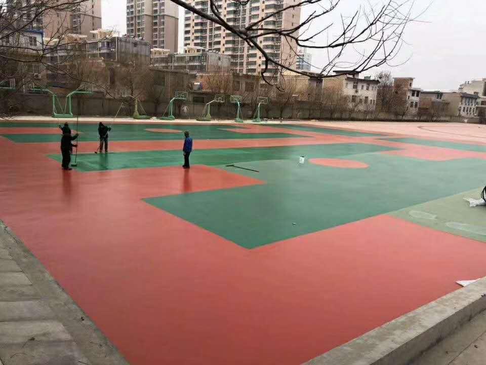 陕西硅PU球场