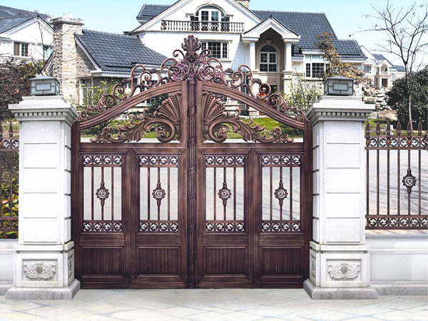 别墅庭院大门