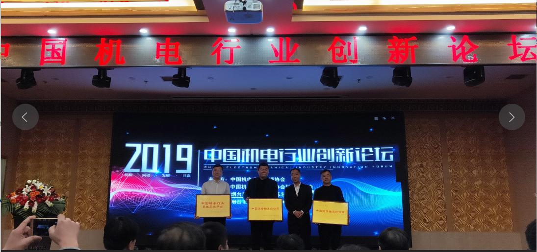 腾远控股集团腾远工业装备发展有限公司荣获中国机电流通协会bwin下载app专业委员会授予中国优 秀bwin下载app经销商企业