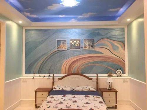 墙体艺术绘画