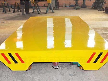 滑触线平板车