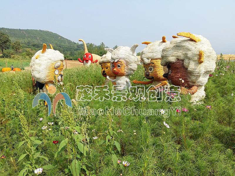 稻草人喜羊羊