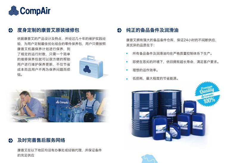 CompAir LB30-400/LB30RS-275RS 微油