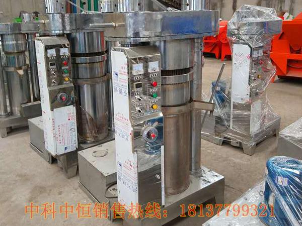 茶树油液压榨油机