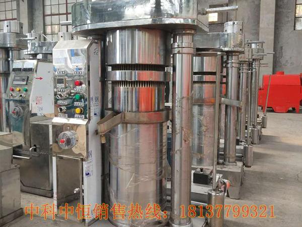 商用液压榨油机