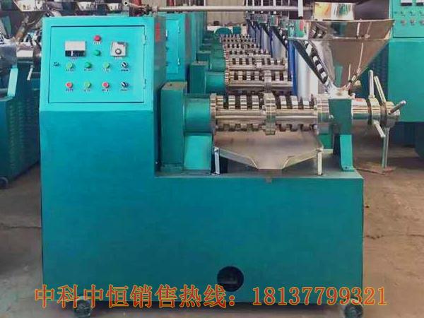 电动螺旋榨油机