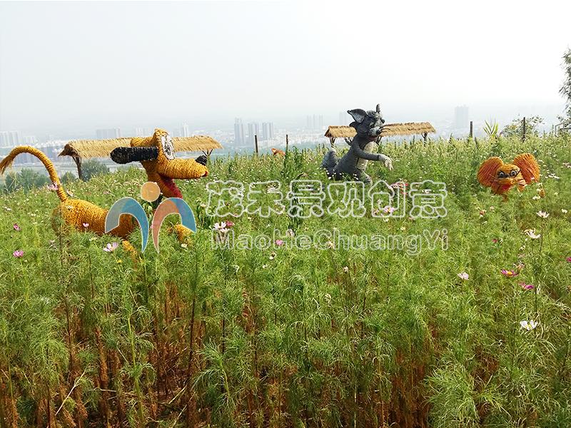 西安白鹿原民俗文化村