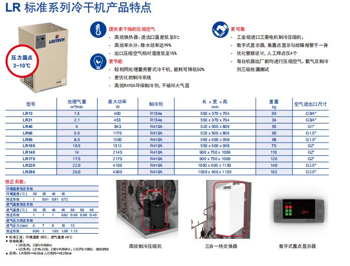 LD/LR 冷冻式干燥机