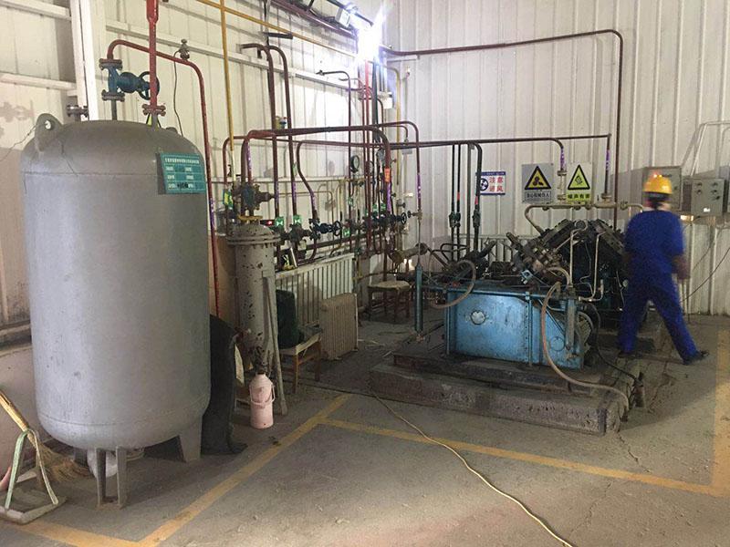 辛烷双氟硼酸盐生产车间