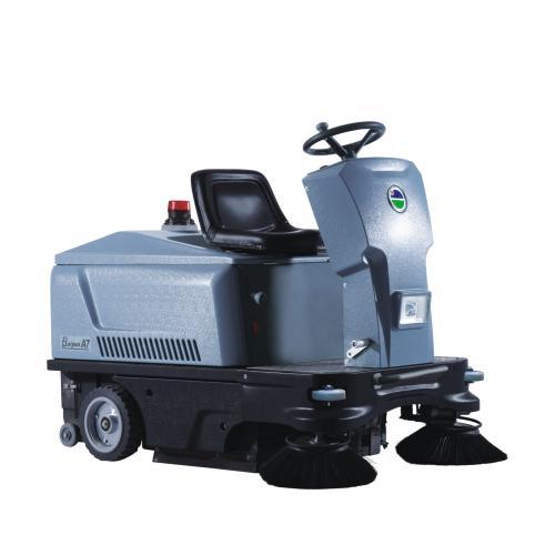 电动洗地车