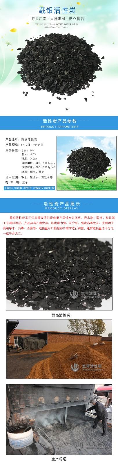 載銀活性炭