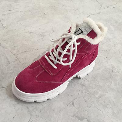 加絨運動鞋