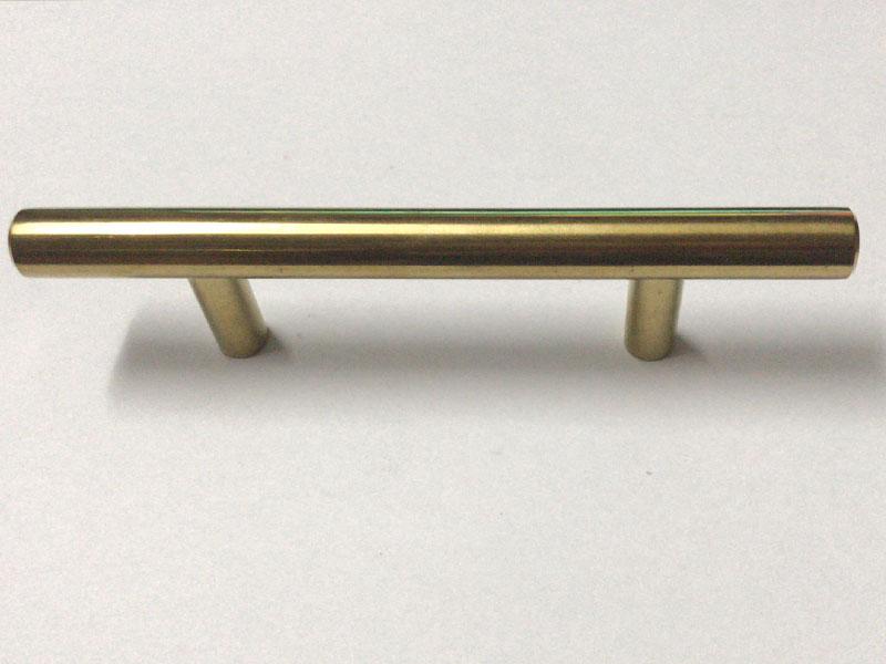 不锈钢实心T型仿金拉手