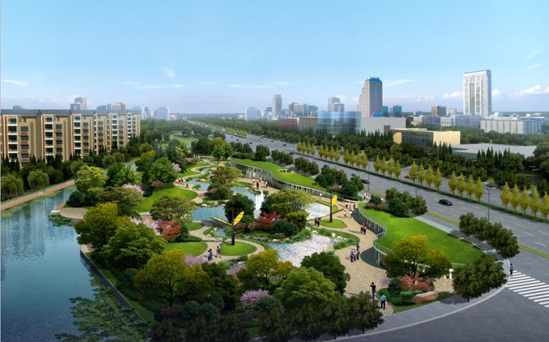 城市公園景觀