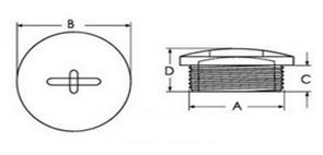 螺旋式塞头