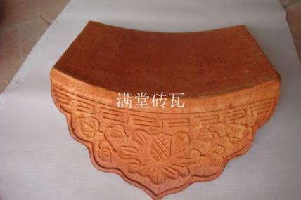 惠州牡丹花滴水瓦
