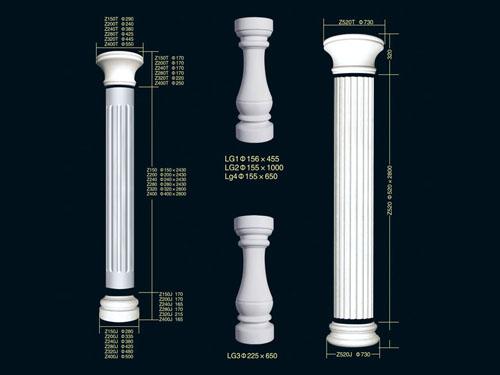 西安罗马柱头哪家好
