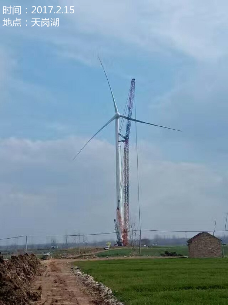 2016泗洪县高传风力发电有限公司35kv集电线路工程