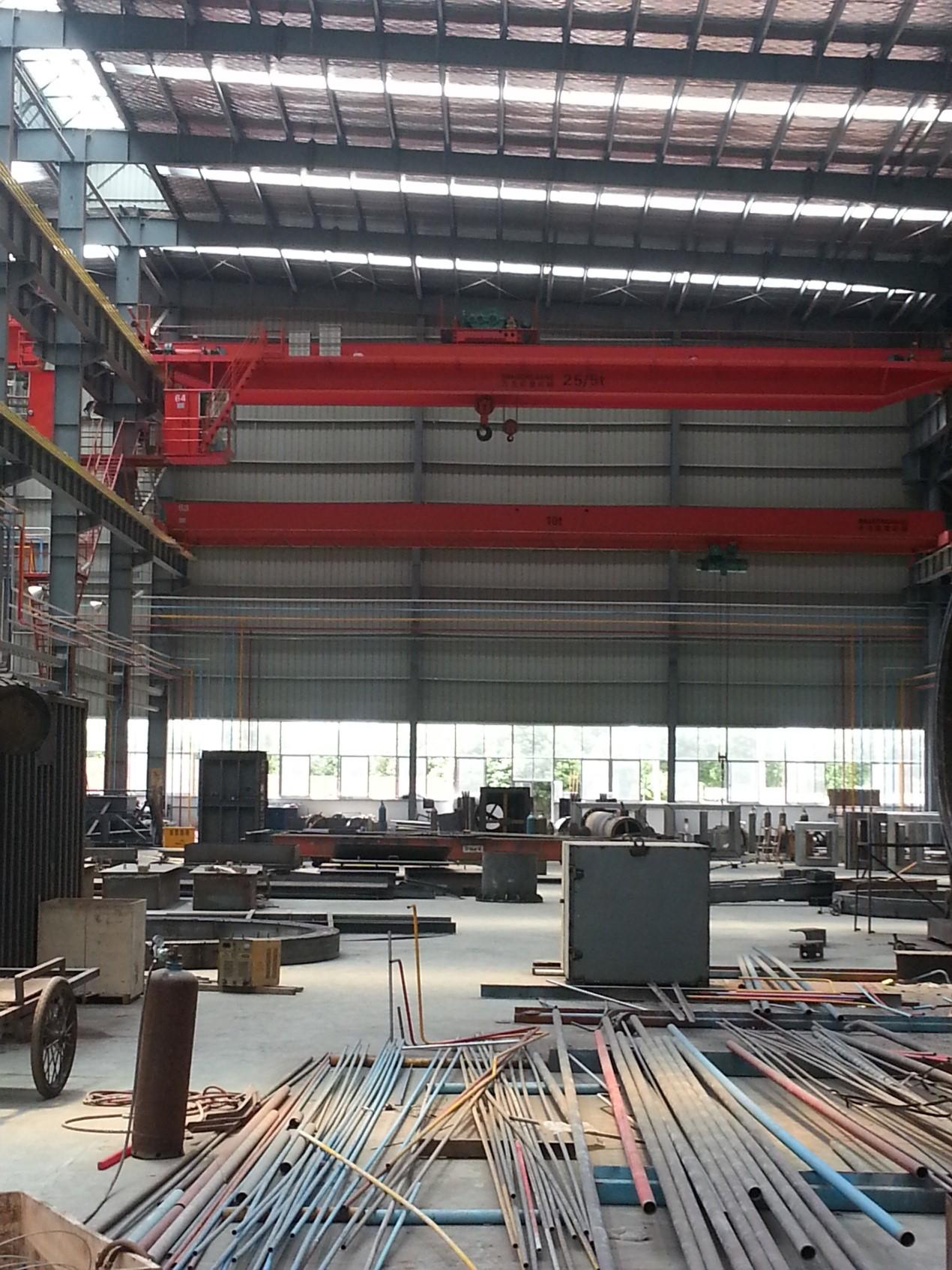 江陰焱鑫10萬平米新廠房集中供氣系統