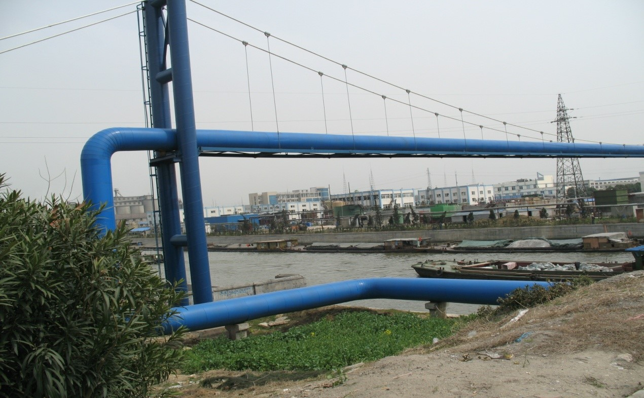 宜興協聯過錫溧漕運河蒸汽懸索橋