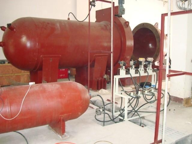 某研究所壓力筒及加載管路系統