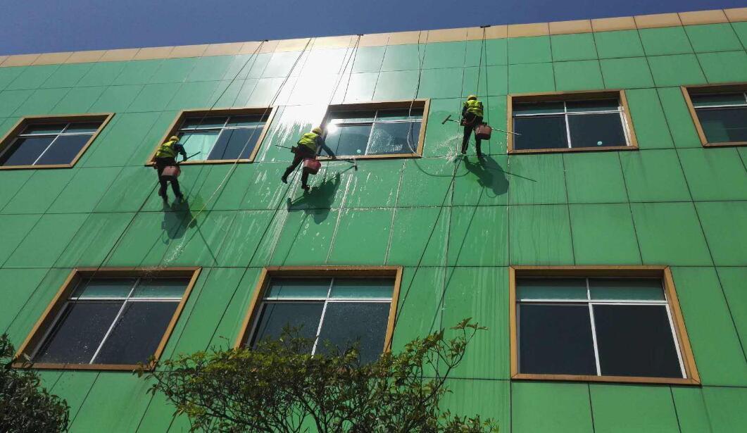 重庆学校外墙清洗