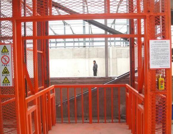 液压升降货梯设备