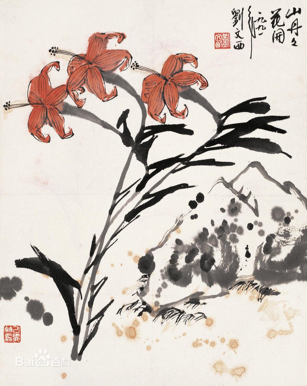 黄土画派刘文西