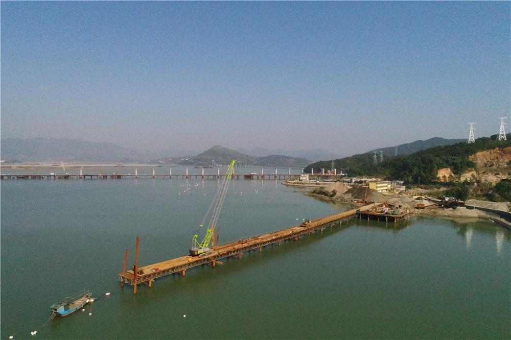 德京集团股份有限公司宁德时代新能源湖西产业园220KV输变电工程附属钢栈桥及钢平台工程项目
