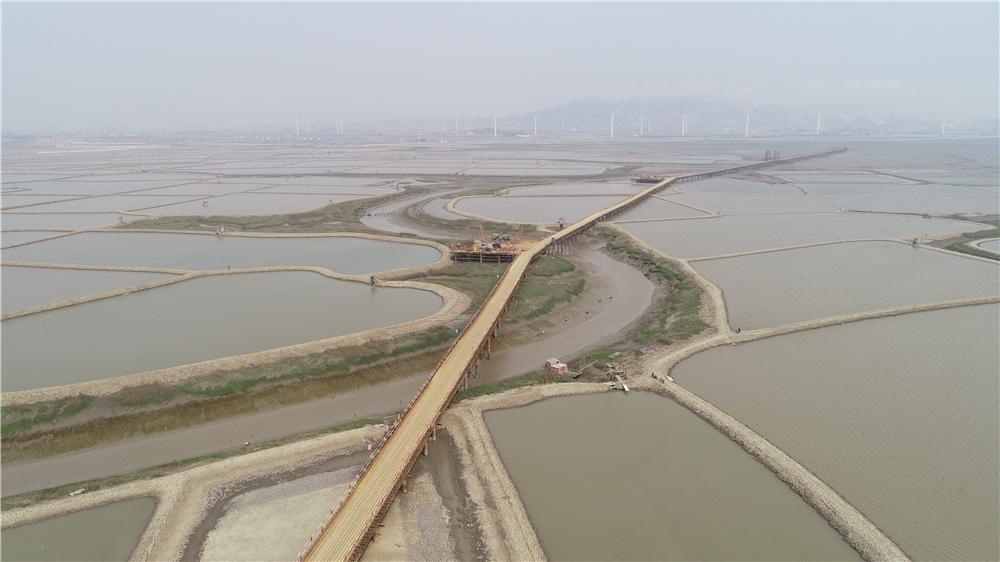 湄洲湾第二电厂-莆田500KW线路工程项目钢栈桥及钢平台施工工程
