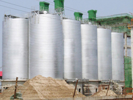 水泥行业钢板仓