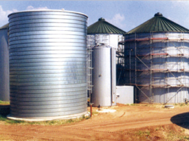 粮食行业钢板仓