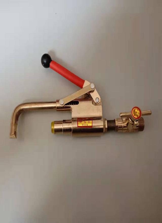 液化氣自閉閥門充氣槍