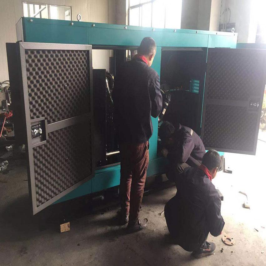 100KW潍柴股份柴油发电机组