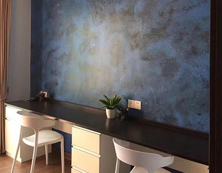 艺术漆施工前墙面怎么处理