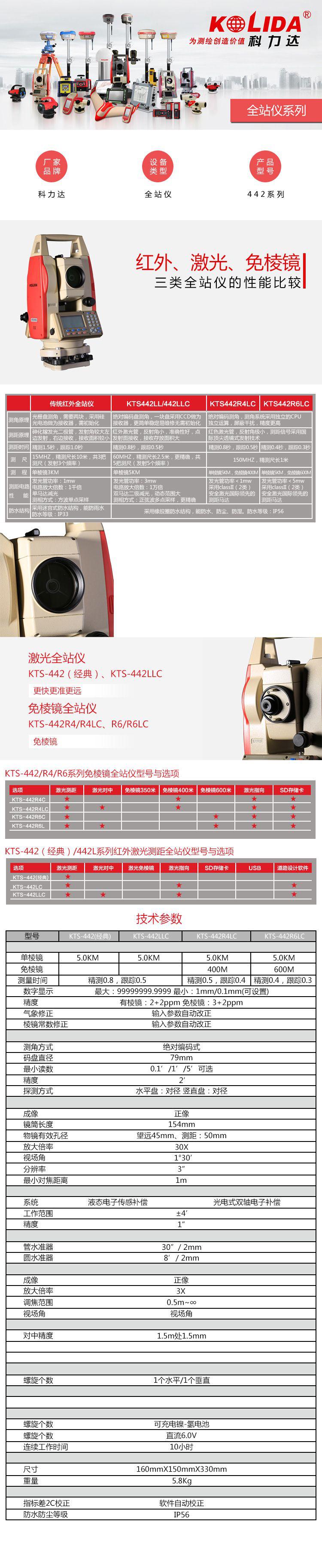 科力达KTS-442