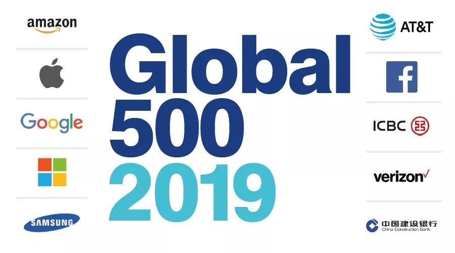 2019年全球具价值500大品牌榜