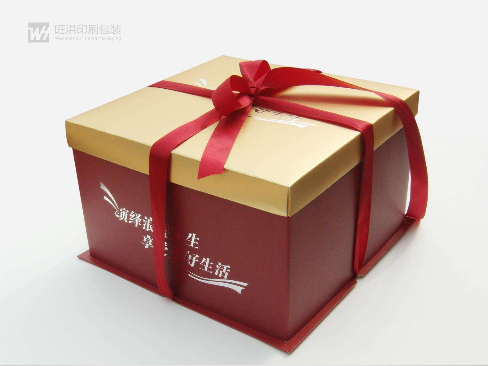 天地蓋瓦楞蛋糕盒
