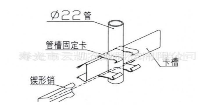 放風卡槽固定器