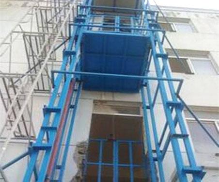 导轨式升降货梯设备