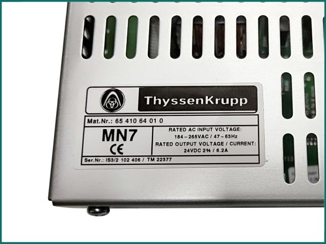 Thyssen elevator power