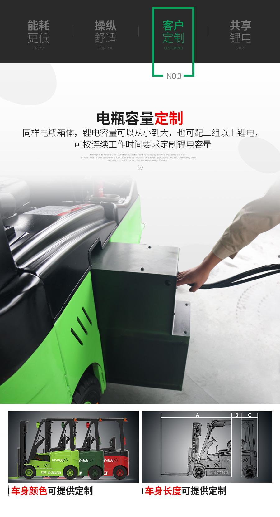 锂电池叉车